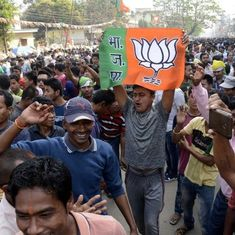 त्रिपुरा : नगरीय निकायों के चुनाव में भाजपा ने 67 में से 66 सीटें जीतीं