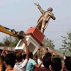 त्रिपुरा हिंसा : राजनाथ सिंह ने राज्यपाल और डीजीपी से शांति व्यवस्था सुनिश्चित रखने को कहा