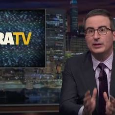 Watch: John Oliver reviewed NRA TV's absurd content, and we're just as horrified as he was