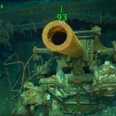 Watch: Microsoft co-founder Paul Allen discovered a submerged US aircraft carrier from WWII