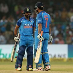 There was no positive intent: Tendulkar feels Dhoni should have taken charge in the middle overs