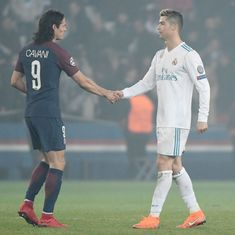 PSG coach Tuchel refuses to part ways with Cavani as Real Madrid links surface