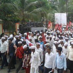 महाराष्ट्र : पूर्ण कृषि कर्जमाफी की मांग के साथ किसानों की पदयात्रा जारी