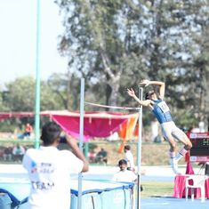 Federation Cup Athletics: Tejaswin Shankar breaks his own national record, qualifies for CWG