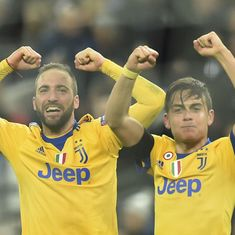 Juventus come from behind to knock Tottenham out of Champions League