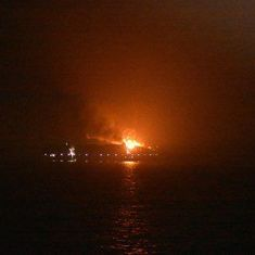 One crew member succumbs to injuries from blaze on container ship near Lakshadweep Islands