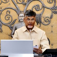 Chandrababu Naidu plays video clips in Andhra Pradesh Assembly of PM Modi promising special status