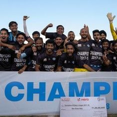 In Panchkula, a day for Bhangra and bragging rights as Minerva Punjab claim I-League crown