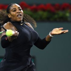 Serena Williams wins first match on return to WTA Tour after 15-month maternity break