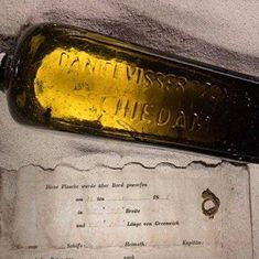 Video: This is believed to be the world's oldest message in a bottle. What does it say?