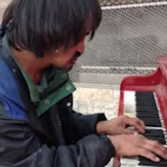 Watch: The homeless 'Piano Man' from Edmonton who touched hearts across the world has died