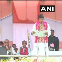 त्रिपुरा : मुख्यमंत्री बिप्लब कुमार देब ने कहा- स्कूलों से वामपंथ से जुड़ी किताबें हटाई जाएंगी