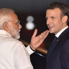 The big news: French President Emmanuel Macron pays tribute at Rajghat, and nine other top stories