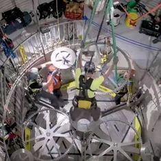 Watch: Amazon CEO Jeff Bezos installed a giant clock meant to last for 10,000 years