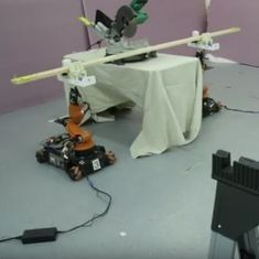 Watch: MIT has created these robotic carpenters to build our DIY furniture for us