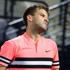Grigor Dimitrov bows out in opening match at Indian Wells