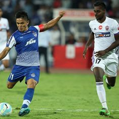 Sunil Chhetri's hat-trick powers Bengaluru FC into ISL final, beat Pune City 3-1