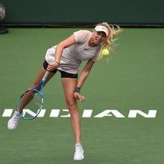 Indian Wells, WTA Roundup: Teen Anisimova ends Kvitova streak, Stephens ousts Azarenka