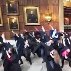 Watch: Cambridge University teachers show off funky dance moves in protest against pension cuts