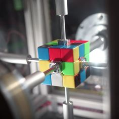 Watch: A robot just solved a Rubik's cube in 0.38 seconds