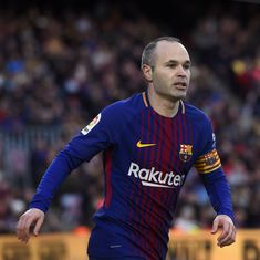 Barcelona or China? Andres Iniesta to take call on future before end of April