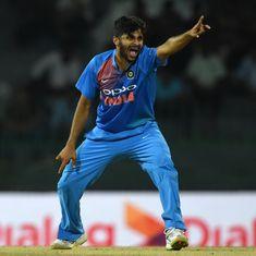 India vs West Indies: Shardul Thakur to replace injured Bhuvneshwar Kumar in ODI squad
