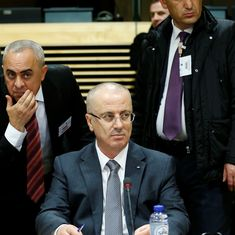 Explosion targets Palestinian Prime Minister Rami Hamdallah as his convoy enters Gaza