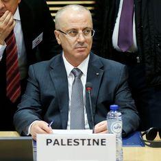 फिलिस्तीन : प्रधानमंत्री रामी हमीदल्लाह एक बम धमाके में बाल-बाल बचे
