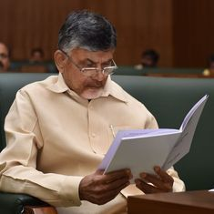 Chandrababu Naidu meets Arvind Kejriwal to discuss no-trust motion against Centre