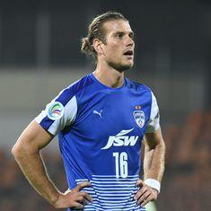 Australian midfielder Erik Paartalu extends stay with Bengaluru FC, signs deal till 2020