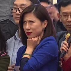 Watch: A Chinese reporter broke the internet, and then got censored, for a sensational eye-roll