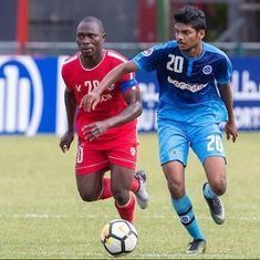Ali Ashfaq's hat-trick powers New Radiant to 3-1 win over Aizawl FC in AFC Cup match