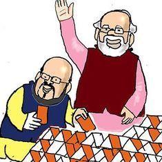 कार्टून : इधर निखरे तो उधर बिखरे