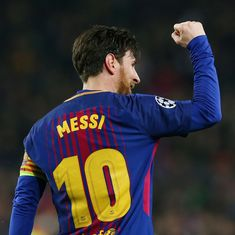 'The greatest player ever!': Twitter hails King Messi's magical Champions League show
