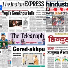 'Yogi's Gorakhpur falls': What front pages had to say about BJP's bye-poll losses
