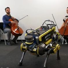 Watch: Play almost any music you like. This robot has been programmed to dance to it