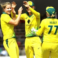 Women's Ashes: Ellyse Perry stars with the ball as Australia beat England in thrilling first ODI
