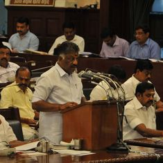 Tamil Nadu: Deputy CM Panneerselvam presents deficit Budget, takes dig at Gujarat, Rajasthan