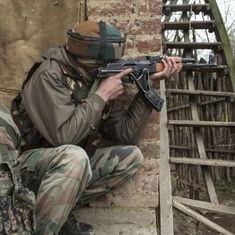 Jammu and Kashmir: Civilian, three suspected militants killed in encounter
