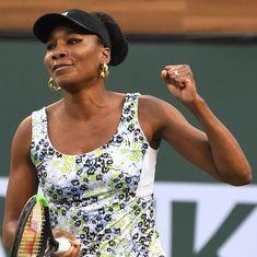 Indian Wells: Venus routs Suarez Navarro, giant-killing Kasatkina stuns Kerber