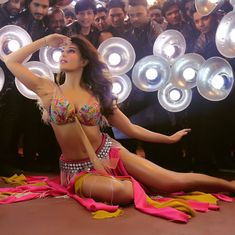 Watch: Jacqueline Fernandez steps into Madhuri Dixit's shoes in 'Ek Do Teen' remix from 'Baaghi 2'