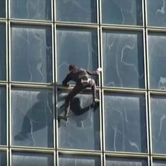 Watch: At 55, the 'French Spiderman' keeps scaling some of the tallest buildings in the world