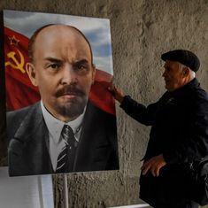 व्लादिमीर लेनिन को उनके अपने ही देश रूस में कैसे याद किया जाता है?