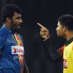 'How many demerit points today?' Twitter urges ICC to sanction Bangladesh after Premadasa scuffle