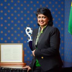 Mauritius president resigns after claims that she used an NGO's credit card for expensive purchases