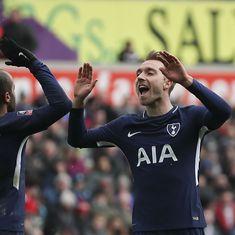 Christian Eriksen scores twice against Swansea to put Tottenham Hotspur in FA Cup semis