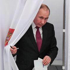 रूस के राष्ट्रपति चुनाव में व्लादिमीर पुतिन की बड़ी जीत, चौथी बार देश की कमान संभालेंगे