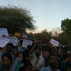 Protests against attendance rule have brought campus to a halt, says JNU management