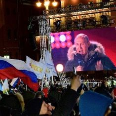 व्लादिमीर पुतिन चौथी बार रूस के राष्ट्रपति बनेंगे
