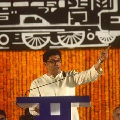 Maharashtra Navnirman Sena's Raj Thackeray asks political parties to unite for a 'Modi-mukt Bharat'